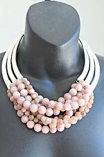 NWT Monies style lagenlook artsy electroform silver 925 moonstone necklace