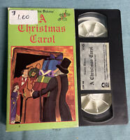 A Christmas Carol VHS Presented by Taco Bell Charles Dickens, Vintage TESTED