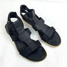 Euro By Soft Womens Shoes Size 8M Black 3128741 Celeste Sandal Shoes Casual JJ