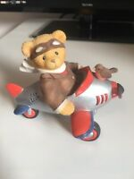 """Cherished Teddies - CHAD - SKY BEAR -THE PILOT """"With you my spirits soars"""" 1999"""