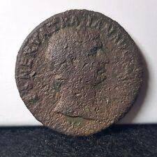 MONETA ROMANA SESTERZIO Imperatore Traiano. 24.7 G 35 mm. 53-117 ad. ORIG.