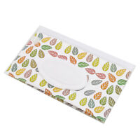 Reusable Wet Wipe Pouch Travel Wet Wipe Printed Case Wipes Dispenser Supplies D