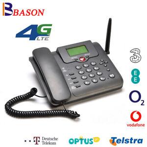 LTE Modem 4G Router Fixed Phone Mobile WiFi Hotspot For Telstra Optus Vodafone