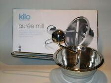 Nuevo CKS Kilo Acero Inoxidable Bebé Mouli Alimentos Licuadora puré Molino HA49