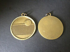 "Volleyball medal, gold, award, 2"" diameter NEW SCHOOL GOLD METAL AWARDS"