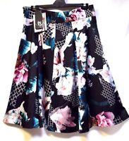 TS skirt TAKING SHAPE EVENT-WEAR plus sz XS/ 14 Oriental Garden Skirt NWT rp$180