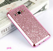 Bling Skin Soft TPU Rubber Plating Case Cover For Samsung Galaxy S8 Plus J5 J7