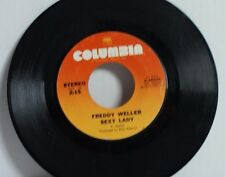 Freddy Weller - Sexy Lady / Bobby Crab tree's Grave - 45 Columbia