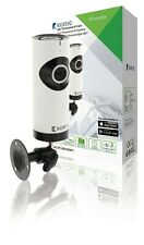 TELECAMERA fisheye IP 180° CON MICROSD MICROFONO AUDIO HD WIFI