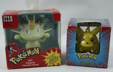 Pokémon Set: Pikachu Figur & Figur Mauzi OVP
