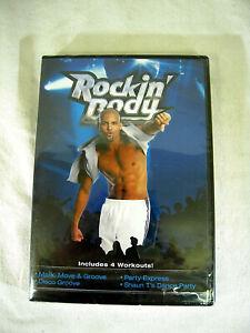 Shaun T - Rockin' Body - includes 4 workouts by Beach Body NIP