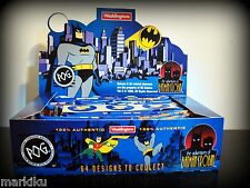Sealed box of  Waddingtons The Adventures of  Batman & Robin Pogs 1995 24 packs