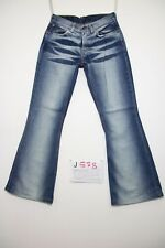 Levis 544 flare bootcut (Cod.J578) Tg.42 W28 L34 jeans usato accorciato donna