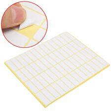 840 Tags Small White Sticky Labels 38x13mm Price Stickers Blank Self Adhesive UK
