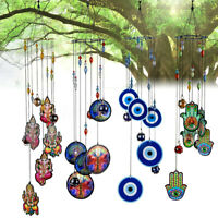 Wind Chime Life of Tree Crystal Ball Prism Suncatcher Home Decor Wood Metal