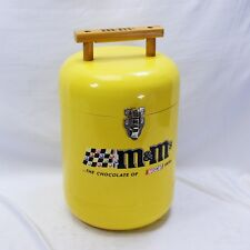 M&Ms Nascar Ice Chest Cooler Yellow