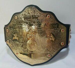 "WCW ""Big Gold"" World Heavyweight Championship Belt Figures Inc 2003 1 of a kind"