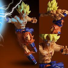 JP Anime Dragon Ball Z Super Saiyan Son Goku Grabbing Hand Figures Toy Gift
