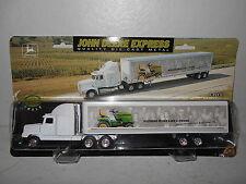 Ertl John Deere Express Semi Tractor Trailer - 1/64 Scale - NEW