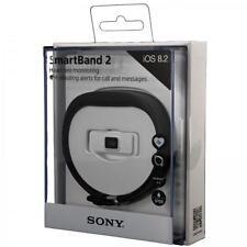 Sony SmartBand 2 SWR12 Activity Tracker Intelligent Heart Rate Monitor BLACK