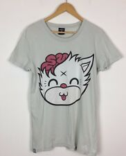 MENS DROP DEAD OLI SYKES HXC MASCOT KITTY T SHIRT TOP UK M