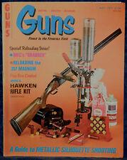 Magazine *GUNS* May, 1977 !!! SAVAGE Model 2400 RIFLE-SHOTGUN by BILL JORDAN !!!
