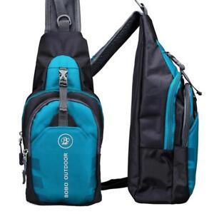 SLING BAG: Crossbody Chest Shoulder, Men & Women Hiking Money Messenger Backpack