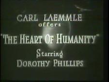 THE HEART OF HUMANITY 1919  War  ERICH VON STROHEIM DVD region free