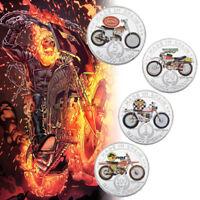 WR 1/5/50/100 Pesetas Spain Coin Set Bultaco Matador Sd Motorcycle Collect Gifts
