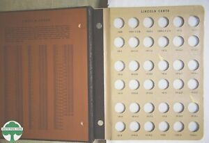 USED LINCOLN CENTS WITH PROOFS DANSCO ALBUM #8100 - 1909 to 1999 - NO COINS