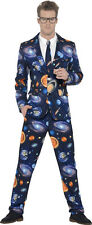 Space Stand out Suit – Spaceman Costume Mens Halloween Fancy Dress Smiffys 41590 M - Medium