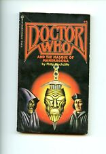 DOCTOR WHO AND THE MASQUE OF MANDRAGORA  # 8, Hinchcliffe,2nd US  SB VG
