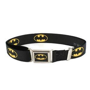New Buckle Down Kids' Magnetic Buckle DC Comics Batman Stretch Belt