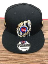 f6497c81110ff New Era 9Fifty Chicago Cubs 2016 World Series Champions Adult Snapback Hat  NWT