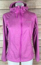 Columbia Women's Full Zipper Hoodie Sweaters Sweatshirts Pink Sz S