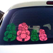 KIWI TIKI KIWI PRIDE Aotearoa NZ Sticker MAORI TIKI Family CAR WINDOW Stickers