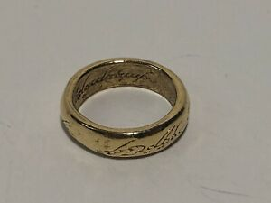 Risk LOTR Lord of the Rings Board Game Replacement Gold Ring Part Piece