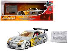 "1993 MAZDA RX-7 RAW METAL ""20TH ANNIVERSARY"" 1/24 DIECAST MODEL CAR JADA 31088"