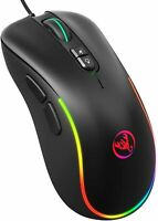 Gaming Mouse, 7 Buttons, Adjustable Dpi, LED Lights, Ergonomic, Programmable