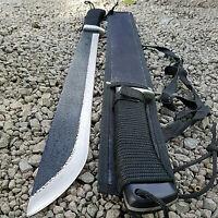 MACHETE mit Schmiedespuren Messer BUSCHMESSER Beil Camping Survival Axt BW