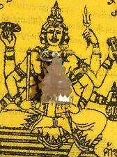 Ganesh Amulet Buddha Prayer Thailand Pendant Meditation Hindu Stone Quartz