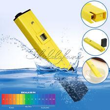 Digital PH Meter Tester Aquarium Pool Water Wine Urine Protable LCD Pen Monitor