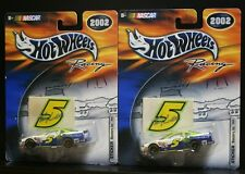 2 NEW NASCAR HOT WHEELS RACING 2002 STICKER 5 MONSTERS INC. LABONTE