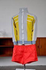 Pantaloni NVA ROSSO 42 d4 XS Uomo Sport Pantaloni 80er True VINTAGE SPRINTER 80s Red