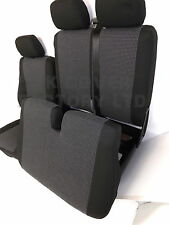 VW TRANSPORTER T5  T26 T28 T30 VAN SEAT COVER SILVER MARCELLA+  X2 IN STOCK!!