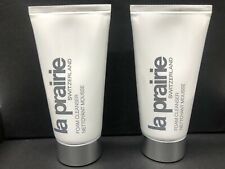 2x La Prairie Foam Cleanser Deluxe Travel Size 50 ml / 1.7 oz New