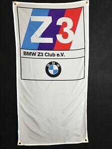 BMW Z3 Flag Banner ~ m3 z4 z8 e36 m5 dinan ac schnitzer alpina hartge roadster
