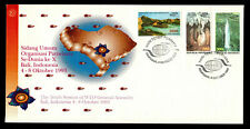 Indonesia 1993 Caves Set of 3 Fdc