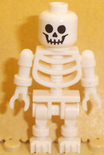 Lego Minifig Skeleton x 1 White Skeleton Minifigure