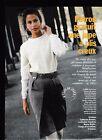 Patron couture Modes et travaux novembre 1990 jupe à plis creux + veste poupée